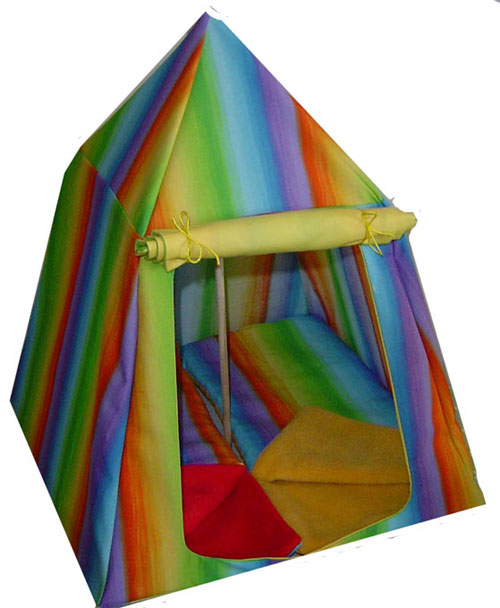 Rainbow Tent  sc 1 st  House of Bearmani! & Tents : House of Bearmani! Haute Couture for your special teddy bear